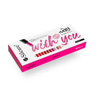Silcare Zestaw Flexy - With You Set (10 x 4.5 g)