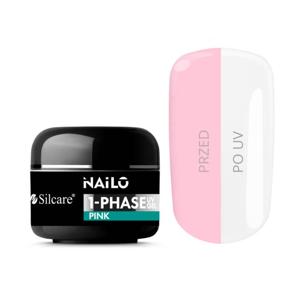 Silcare NAILO 1-Phase Gel UV Pink 5 g