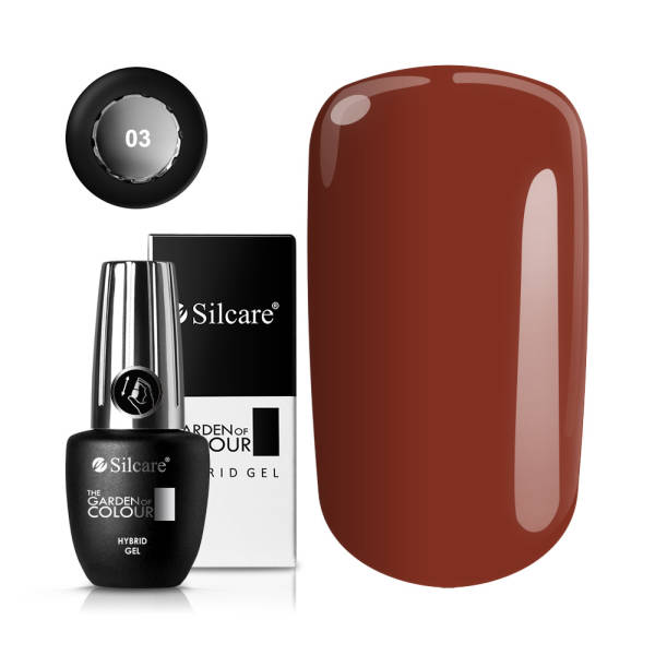 Silcare The Garden of Colour Lakier Hybrydowy 15 g *03