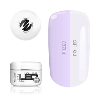 High Light LED Gel Violet 100 g
