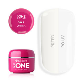 Base One Gel UV Bianco W1 Naturale 5 g