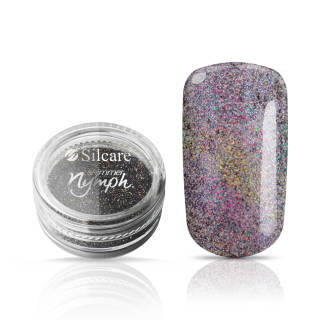 Silcare Pyłek Shimmer Nymph Graphite *A 3 g