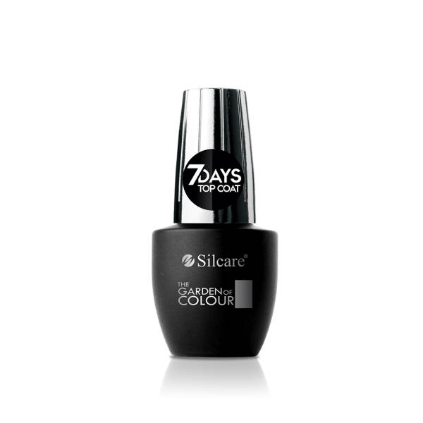 Silcare The Garden of Colour Top Coat 7 days 15 мл