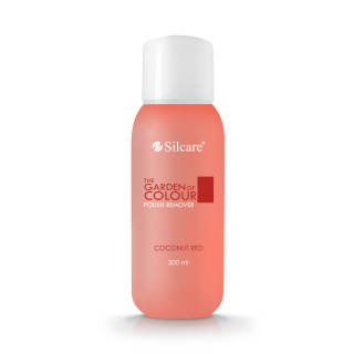 Fragrant Polish Remover The Garden of Colour Coconut Red 300 ml
