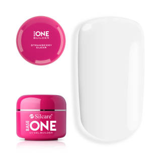Base One Żel UV Clear Strawberry 30 g