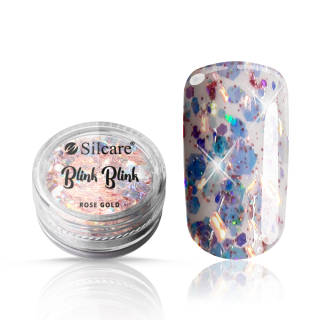 Blink Blink nail decorations Rose Gold 0,5 g