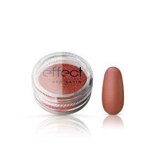 OUTLET Red Satine Effect Powder