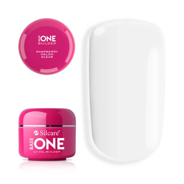 Silcare УФ-Гель Base One - Clear Raspberry Melon 30 г
