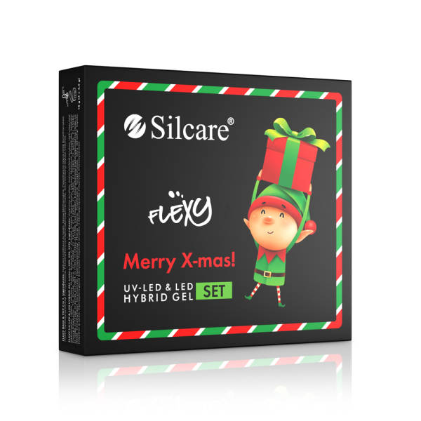 Silcare Flexy Hybrid Gel Set - X-MAS (4 x 4.5 g)