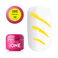Silcare УФ-Гель Base One - Paint Gel 12 Yellow