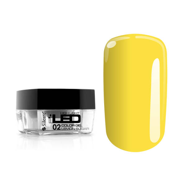 Silcare High Light LED Żel Color 02 Lemon Sugar