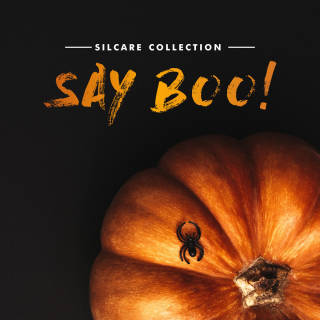SILCARE INSPIRATIONS Collection Say boo - Halloween