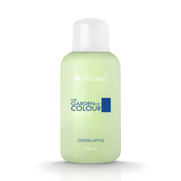 Silcare Aceton The Garden of Colour Zapachowy Green Apple 150 ml