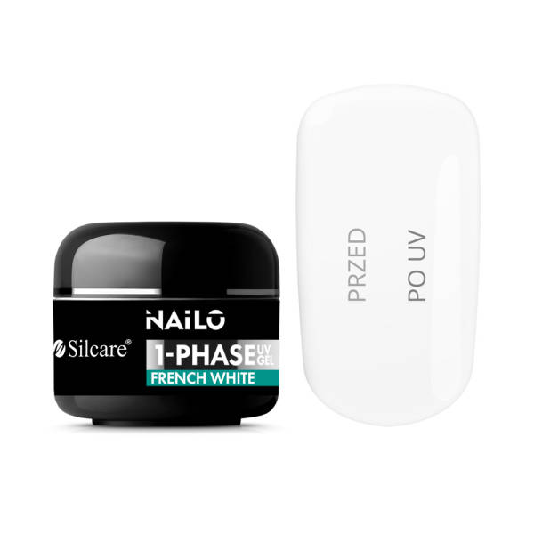 Silcare NAILO 1-Phase Gel UV French White 50 g