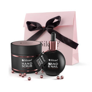 Hand- und Nagelpflege-set So Rose! So Gold! Hand-Scrub-Seidenpaste 150 ml + Hand & Nail Oil Serum 75 ml