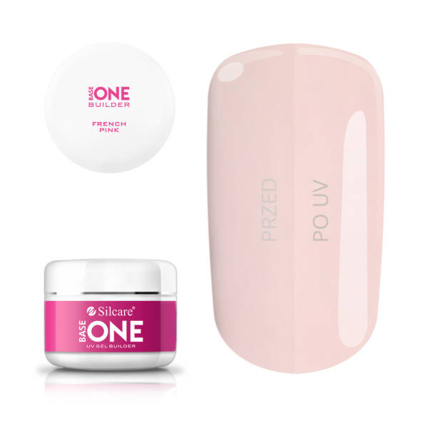 Silcare Base One Żel UV French Pink 100 g