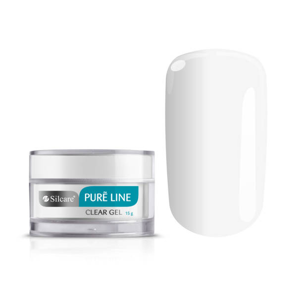 Silcare Pure Line Żel UV CLEAR 15 g