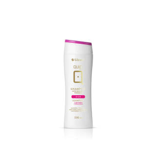 Shampoo QUIN with silk and vitamins 250 ml