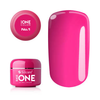 Base One Żel UV Pink No. 1 Magenta 5 g