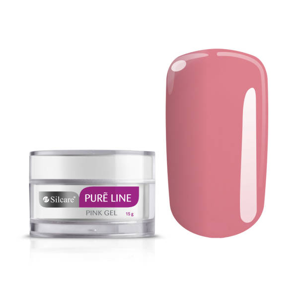 Silcare Pure Line Gel UV PINK 15 g