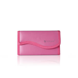 OUTLET Manicure set - Pink with latch - ETUI