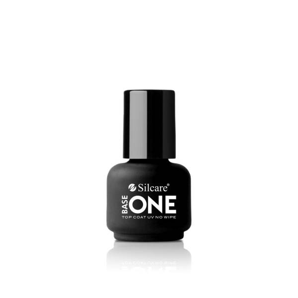 Silcare Base One Żel UV Top Coat UV No Wipe 15 g