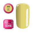 SILCARE INSPIRATIONEN Kollektion Summer Sunset Base One Gel UV COLOR PASTEL *01 Yellow