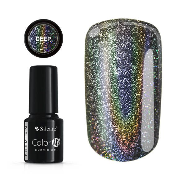 Silcare Color IT Premium Lakier Hybrydowy HOLO deep