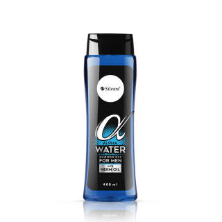 Shower Gel for Men Alpha 400 ml - Alpha Water