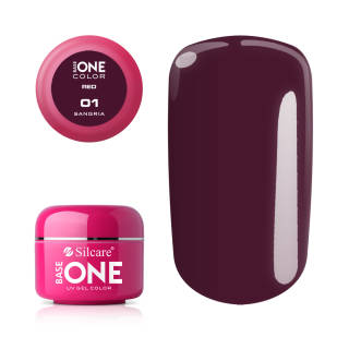 Base One Żel UV Red