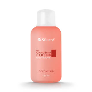 Fragrant Polish Remover The Garden of Colour Coconut Red 150 ml