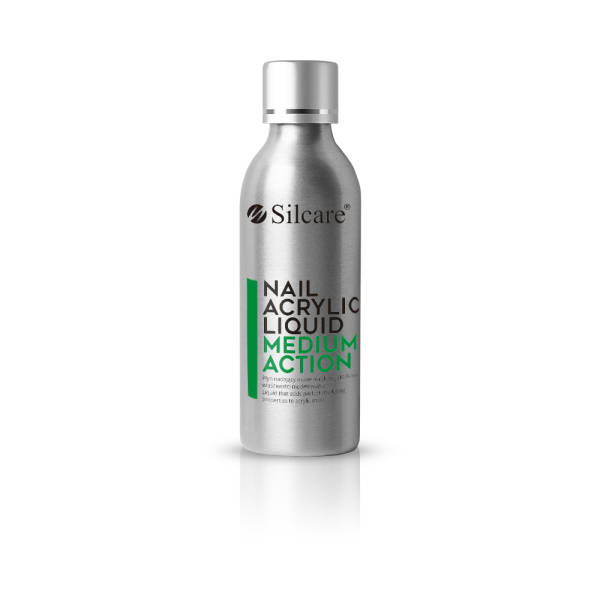 Silcare Nail Acrylic Liquid Medium Action - Comfort 120 ml