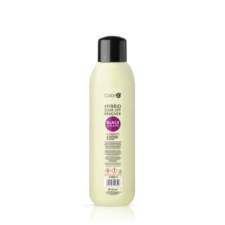 Hybrid Soak Off Remover COLOR IT with oils - Black Grape 1000 ml