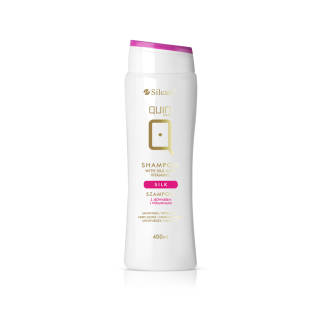 Shampoo QUIN with silk and vitamins 400 ml
