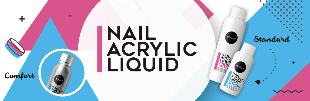 Nail Acrylic Liquid Silcare short long action