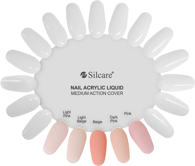 Silcare Nail Acrylic Liquid  Medium Action Cover